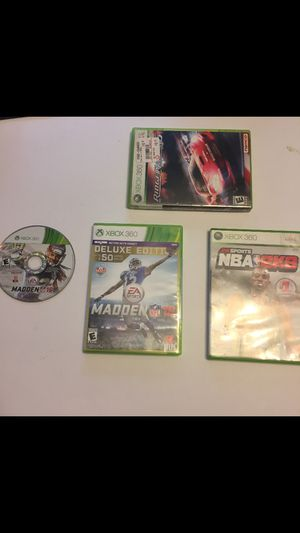 Xbox 360 games bundle for Sale in Paterson, NJ