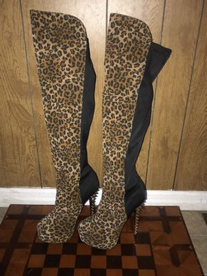 Cape Robbin Thigh-High Boots, Size 7.5 (Never Worn) for Sale in Lakeland, FL
