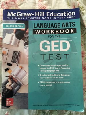 GED Language Arts workbook for Sale in Chapel Hill, NC