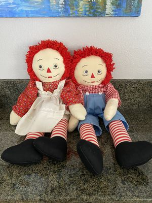 Raggedy Ann and Andy for Sale in Temecula, CA