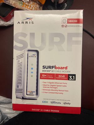 SURFboard Cable Modem for Sale in Hesperia, CA