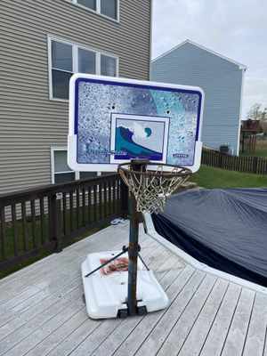 Basketball Hoop for Pool for Sale in Hoffman Estates, IL