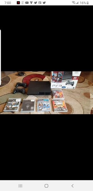 Ps3 slim, can play and download the games you wanna it play ..ps3,ps2,ps1,psp,,so easy for Sale in Lake Worth, FL