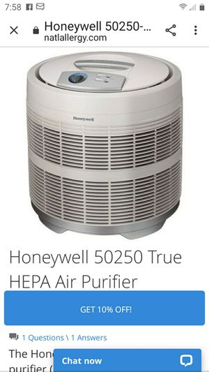 Honeywell Air purifier for Sale in Easley, SC