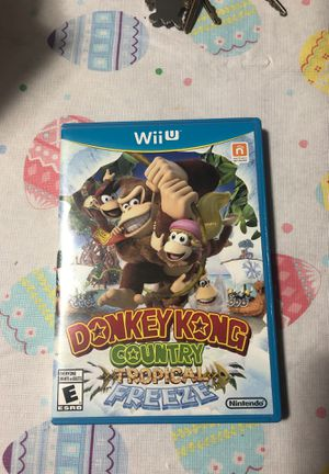 Nintendo Wii U Donkey Kong Country Tropical Freeze for Sale in Chicago, IL