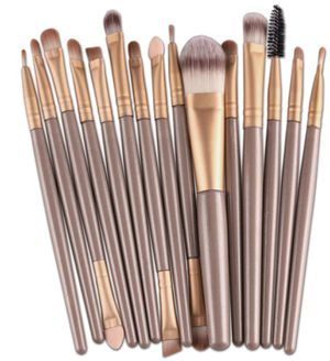 15 pcs professional makeup brushes for Sale in Bluffdale, UT