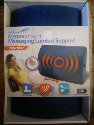 Massaging Lumbar Support w/vibration for Sale in Marysville, WA