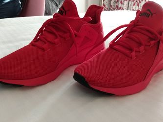 PUMA All Red Casual Shoes for Sale in Las Vegas,  NV