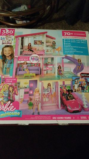 New Barbie DreamHouse for Sale in San Angelo, TX