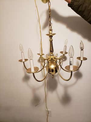 Brass chandelier for Sale in Grove City, OH