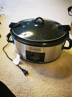 Crock-Pot Slow Cooker, Stainless Steel for Sale in Clackamas,  OR