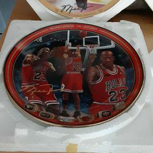 Michael Jordan Collection Plates for Sale in Chula Vista, CA