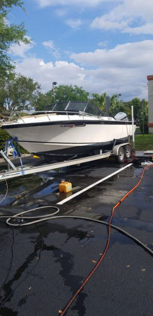 Answer boat +trailer for Sale in Lauderdale Lakes, FL