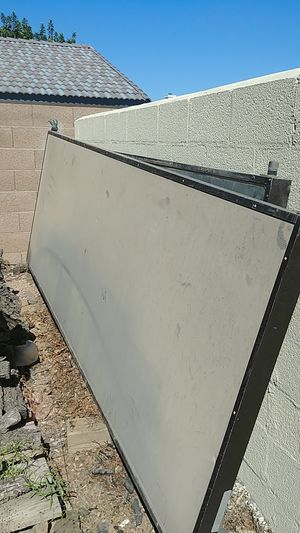 FREE - 2 Old Solar Collector Panels - copper tubing inside for Sale in Phoenix, AZ