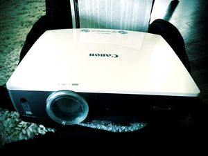 Canon Realis SX80 Mark II projector for Sale in Denver, CO
