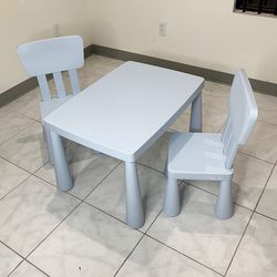 brand new $50 kids activity set, 2pcs chair and table 30x21x19 inches for Sale in Whittier,  CA