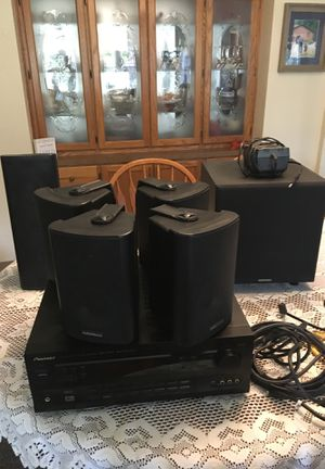 Audiosource surround sound setup,pioneer receiver for Sale in Fall City, WA