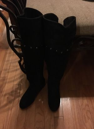 Knee High Black Boots - Ladies Size 6M - Over-the-Knee for Sale in Smyrna, DE