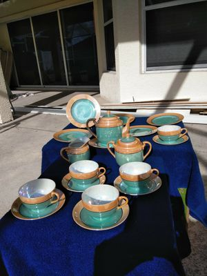 VINTAGE JAPANESE LUSTERWARE TEA SET for Sale in Cape Coral, FL