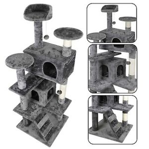 """53"""" STURDY Cat Tree Tower Activity Center Large Playing House Condo For Rest for Sale in Miami, FL"""