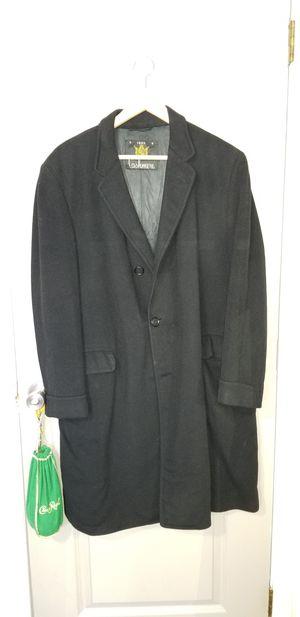 100% Cashmere Mens Full Length Dress Coat for Sale in Shepherdstown, WV