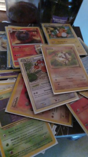 Pokemon card lot base set and new for Sale in Millbury, MA