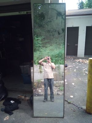2' X 8' tall retail mirror industrial quality for Sale in Manchester, CT
