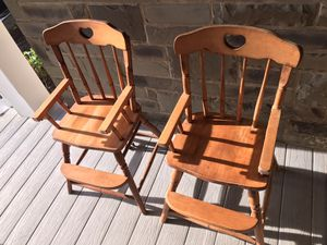 Wooden Toddler Chairs for Sale in Berkeley Township, NJ