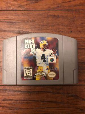 NFL Quarterback Club 99 N64 Cartridge for Sale in La Palma, CA