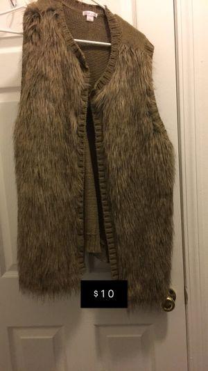 Fur vest for Sale in Moon, PA
