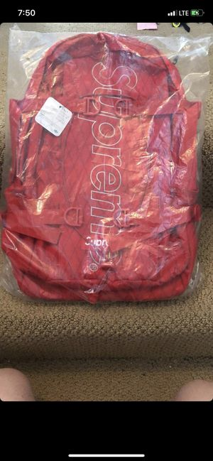 Red s/18 SUPREME Codura Backpack for Sale in Portland, OR