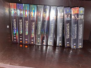 Supernatural dvd collection season 1-11 brand new for Sale in Pine Beach, NJ