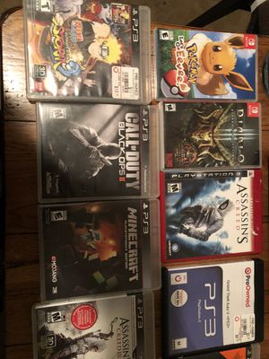 Nintendo switch and PlayStation three for Sale in Hellertown, PA