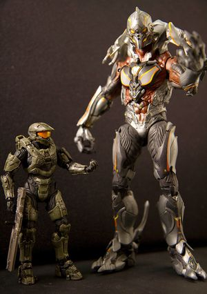 McFarlane Toys Halo 4 Master Chief and Didact Action Figures for Sale in Miami, FL