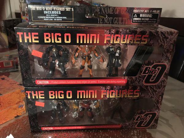 The big o mini figures collecting toys