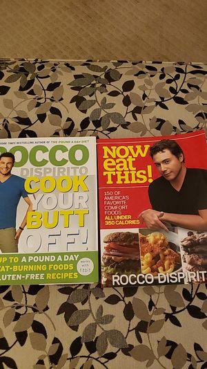 Rocco Dispirito Books - 2 for $5 for Sale in North Canton, OH