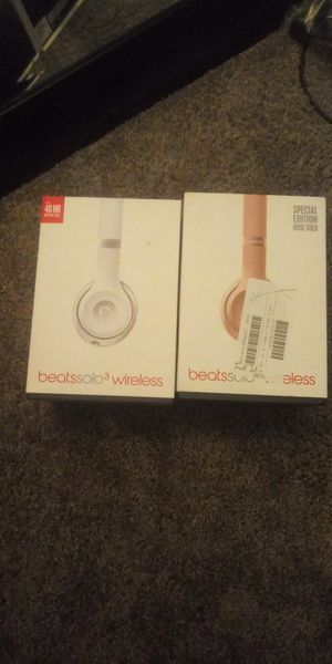 Silver beats by Dre for Sale in Indianapolis, IN