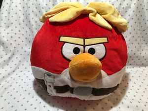 "14"" Angry Bird stuffed animal pillow $12.00 open page to see the rest for Sale in Menifee, CA"