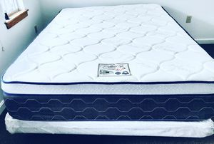 "QUEEN SIZE MATTRESS PILLOW TOP ORTHOPEDIC MIDIUM FIRM 14""BRAND NEW DELIVERY AVAILABLE. We finance for Sale in Southbridge, MA"