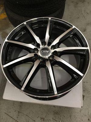 "Brand New 18"" Inch Diablo D18 Black Machined 18X7.5 Wheels Rims Rines 5X100 5X3.94 5X114.3 5X4.5 for Sale in Austin, TX"