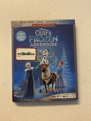 Olaf's Frozen Adventure Blu Ray + DVD for Sale in Los Angeles, CA
