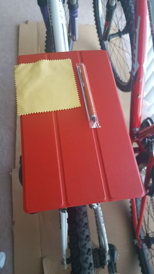 Kindle Fire 10.1 inch case red. for Sale in Boston, MA