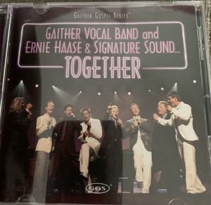 CD-GAITHER VOCAL BAND & ERNIE HASSE & SIGNATURE SOUND for Sale in Palm Bay, FL