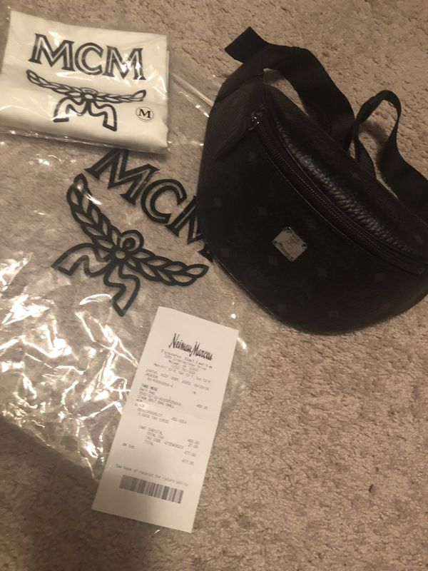 Mcm Stark Small Visetos Belt Bag/Fanny Pack