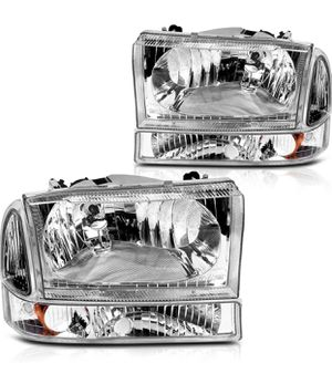 Ford Excursion / F-250 Super Duty Headlights for 1999 to 2004 for Sale in Los Angeles, CA