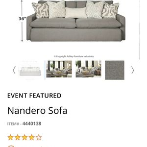 Couch Grey for Sale in Portland, OR