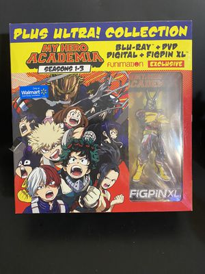 My Hero Academia Plus Ultra Collection Blu-ray DVD Digital FiGPiN Walmart Exclusive for Sale in Orlando, FL