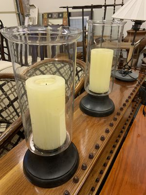 Tall Glass Candle Holders for Sale in Denver, CO
