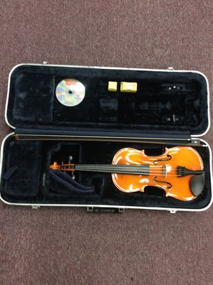 Strobel ML 100 Violin 4/4 w/ Bow, Practice DVD, and 2 Rosin Blocks in Hard Case (18-2608) for Sale in Beltsville, MD