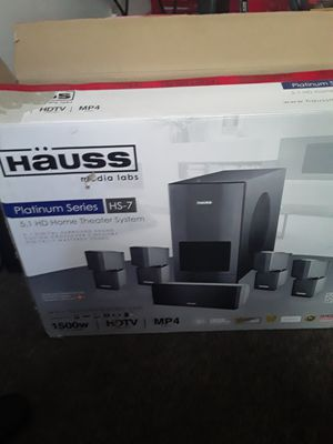 5.1 HD HOME THEATER SYSTEM for Sale in Richmond, CA